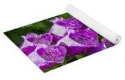 Foxgloves Textured Yoga Mat