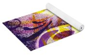 French Curve Abstract Movement II Yoga Mat