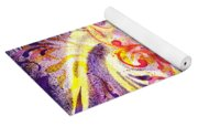 French Curve Abstract Movement V Magic Butterfly  Yoga Mat