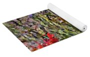 French Lavender Field Yoga Mat
