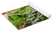 Fresh Herbs Yoga Mat