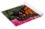 Fresh Monarch Butterfly Yoga Mat