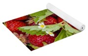 Fresh Picked Strawberries Yoga Mat
