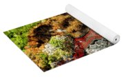 Fresh River Of Lave Yoga Mat