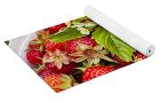 Freshly Picked Strawberries Yoga Mat