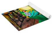 Frog Carrousel Ride Yoga Mat