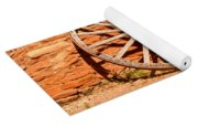Frontier Wagon Wheel Yoga Mat