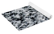 Frost Flakes On Ice - 06 Yoga Mat