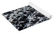 Frost Flakes On Ice - 07 Yoga Mat