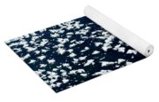 Frost Flakes On Ice - 09 Yoga Mat