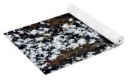 Frost Flakes On Ice - 10 Yoga Mat