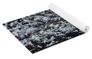 Frost Flakes On Ice - 33 Yoga Mat