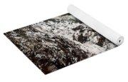 Frozen Snoqualmie Falls Yoga Mat