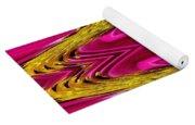 Fuchsia Sensation Zigzags Yoga Mat