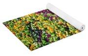 Garden Flowers Yoga Mat