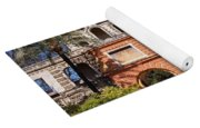 Garden In Alcazar Palace Of Seville Yoga Mat