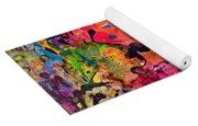 Garden Of Heavenly And Earthly Delights Yoga Mat