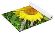 Garden Sunflower Yoga Mat
