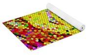 Geometric Abstractions Artwork Colorful Cool Creations Designer Phone Cases 121 Carole Spandau  Yoga Mat