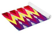 Geometric Colors  Yoga Mat
