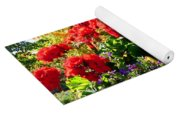 Geraniums Yoga Mat
