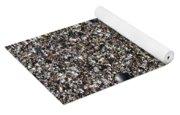 Glass In The Gravel Yoga Mat