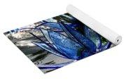 Glass Lilies Yoga Mat