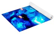 Glass Vase Abstract Yoga Mat