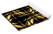 Gold Metallic 8 Yoga Mat