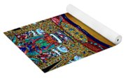 Golden Buddha Yoga Mat