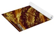 Golden Falls Yoga Mat