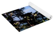 Golden Gate Bridge And Wildflowers Yoga Mat