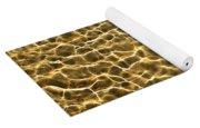Golden Water Yoga Mat