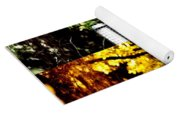 Goldfinch Collage Yoga Mat