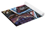 Golf Cart Collage Yoga Mat