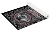 Gothic Celtic Impermanence Yoga Mat