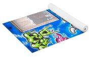 Graffiti Yoga Mat