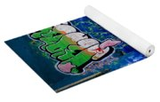 Graffiti Yoga Mat