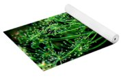 Green Frills II Yoga Mat