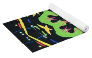 Green Kolide  Yoga Mat