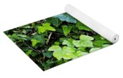 Green With Ivy Yoga Mat