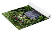 Greenhouse Garden Waterfall Yoga Mat