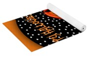 Halloween Black Cat Cupcake 2 Yoga Mat