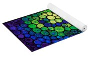 Healing Light - Mosaic Art By Sharon Cummings Yoga Mat