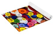 Heart Bowl With Buttons Yoga Mat