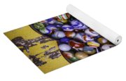 Heart Box Full Of Marbles Yoga Mat