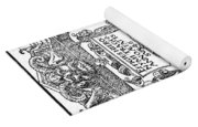 Hieronymous Bock (c1489-1554) Yoga Mat