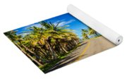 Highway And Coast Yoga Mat