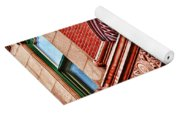 Hoboken Brownstone Art Yoga Mat