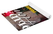 Holiday Home Magazine Cover Yoga Mat